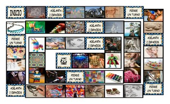 Art Forms Spanish Legal Size Photo Board Game