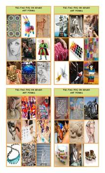 Art Forms Tic-Tac-Toe or Bingo