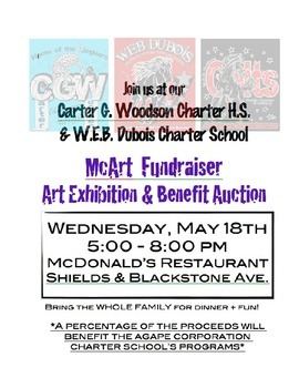 Art Fundraiser Exhibit