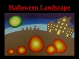Art: Halloween Landscape
