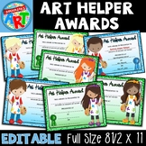 Art Helper Awards Elementary