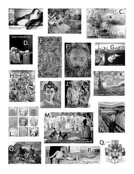 Art History (19th and 20th century) Final Test Students