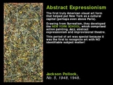 Art History: Abstract Expressionism