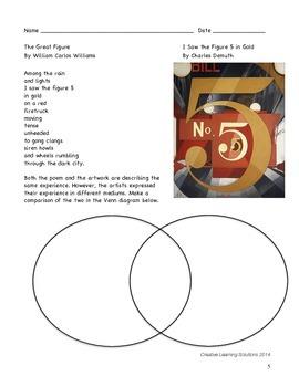 Language Arts Activity: Crossing Boundaries of Art & Poetry(1)Demuth & Williams