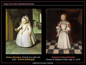 Art History: American Colonial Painting