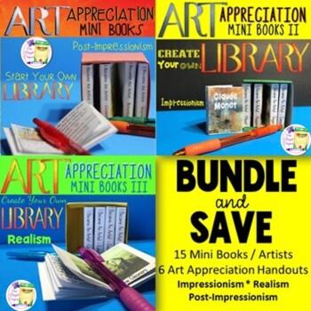 Art History - Art Appreciation Mini Book Bundle