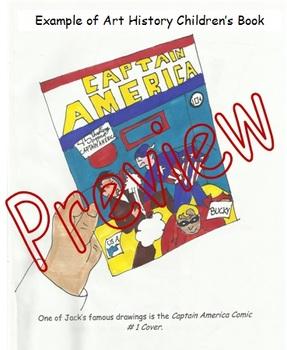 Art History Children's Book