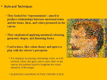 Art History - Comprehensive PPT on Neo and Post-Impressionism