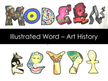 Middle and High School Art Lesson-Art History Graphic