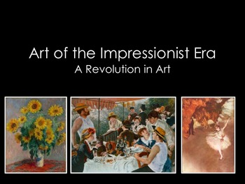 Art History-Impressionism