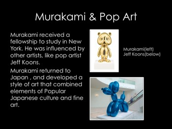 Art History-Japanese Pop Art:Murakami
