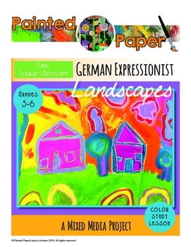 Art History Lesson: German Expressionist Landscapes with K