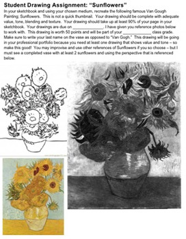 Art History: Life and Works of Vincent Van Gogh ~ 3-Part Lesson Plan