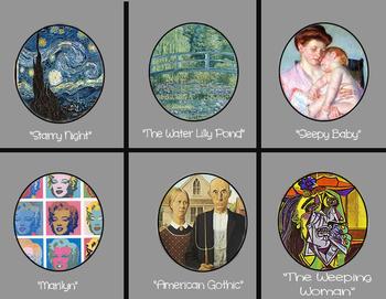 Art History Memory Card Game