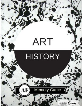 Art History Memory Cards