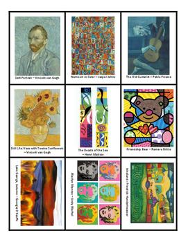 Art History Memory Game