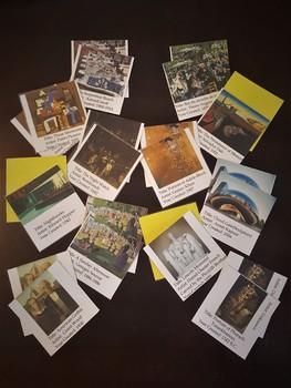 Art History Memory Game Bundle - 4 Packs!