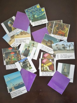 Art History Memory Game Deck 2