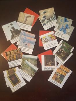 Art History Memory Game Deck 3