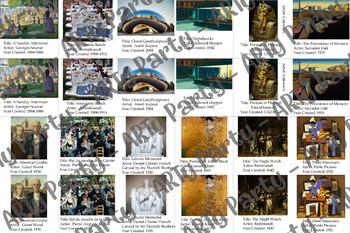 Art History Memory Game Deck 4