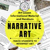 Art History - Narrative Art Activity and Handouts