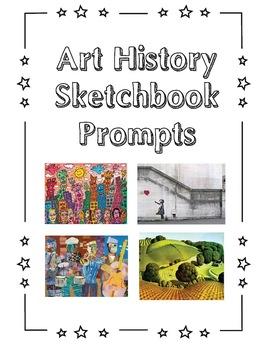 Art History Sketchbook Prompt Cards Set #1