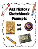 Art History Sketchbook Prompts Set #4