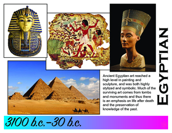 Art History Time Line (Stone Age to Realism) 30,000 b.c. -1900 a.d.