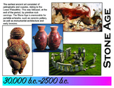 Art History Time Line (Stone Age to Realism) 30,000 b.c. -