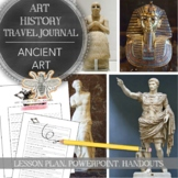 Distance Learning Art History Travel Journal for Middle or