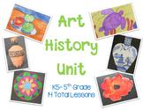 Art History Unit for Elementary Art