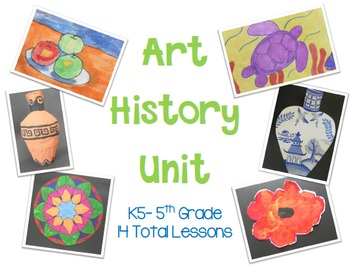 Art History Unit for Elementary Art