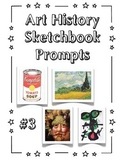 Art History Warm Ups Set #3 - PPT and PDF
