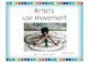 Art History and Advocacy Posters:  What Do Artists Do?  Set #3