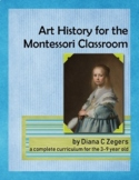 Art History for the Montessori Classroom - December / Vermeer / Portraits