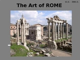 Art History of Rome