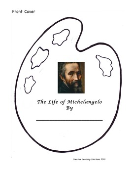 Art History:Exploring the Renaissance-13 Michelangelo Activities
