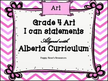 Art I Can Statements - Alberta