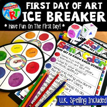 FREE Art Ice Breaker First Day Of School