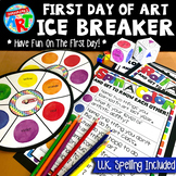 FREE Art Ice Breaker First Day Of School