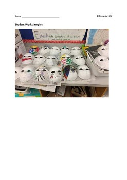 Art Inquiry: Revealing My Masks - Personal Identity Mask Design