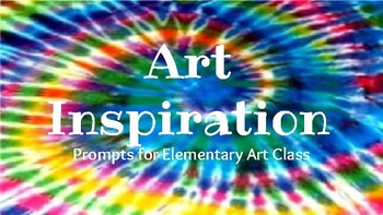 Elementary and Middle School Art Prompts for the Classroom
