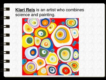 Art Inspired by Cells, Bacteria and Microscopic Things PPT
