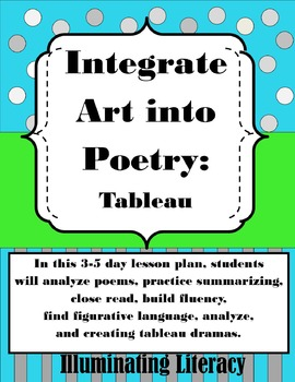 Art Integration: Teach Poetry and Figurative Language with Creative Arts