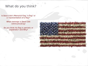 Art Integration:  Visual Thinking Strategies in the Classroom: Memorial Day