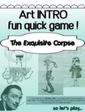 Art - Intro Collaborative Drawing Activity - The Exquisite Corpse
