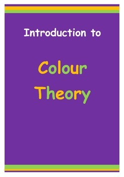 Art: Introduction to Colour Theory Worksheet