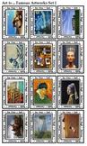 Art Parodies (24 Art Works, 24 Art Info, 24 Art Parodies Cards)