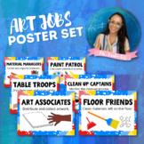 Art Jobs Poster Set