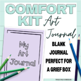 Art Journal for Grief Box or Comfort Kit - Free Coping Ski